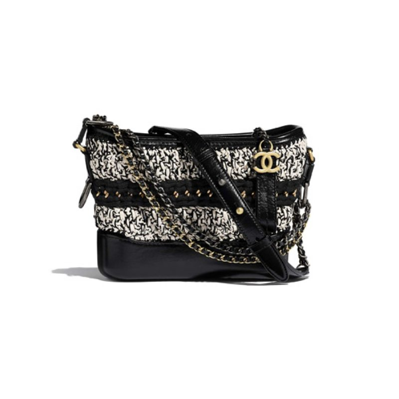 Chanel/香奈儿高仿包包 Chanel混合纤维款Gabrielle流浪包