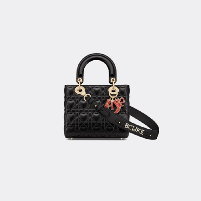 Dior/迪奥高仿原单包包 Dioramour系列My ABCDior手袋 戴妃包
