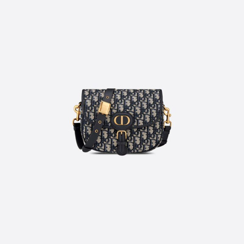 Dior/迪奥高仿原单包包 Dior Oblique 印花 Bobby 手袋