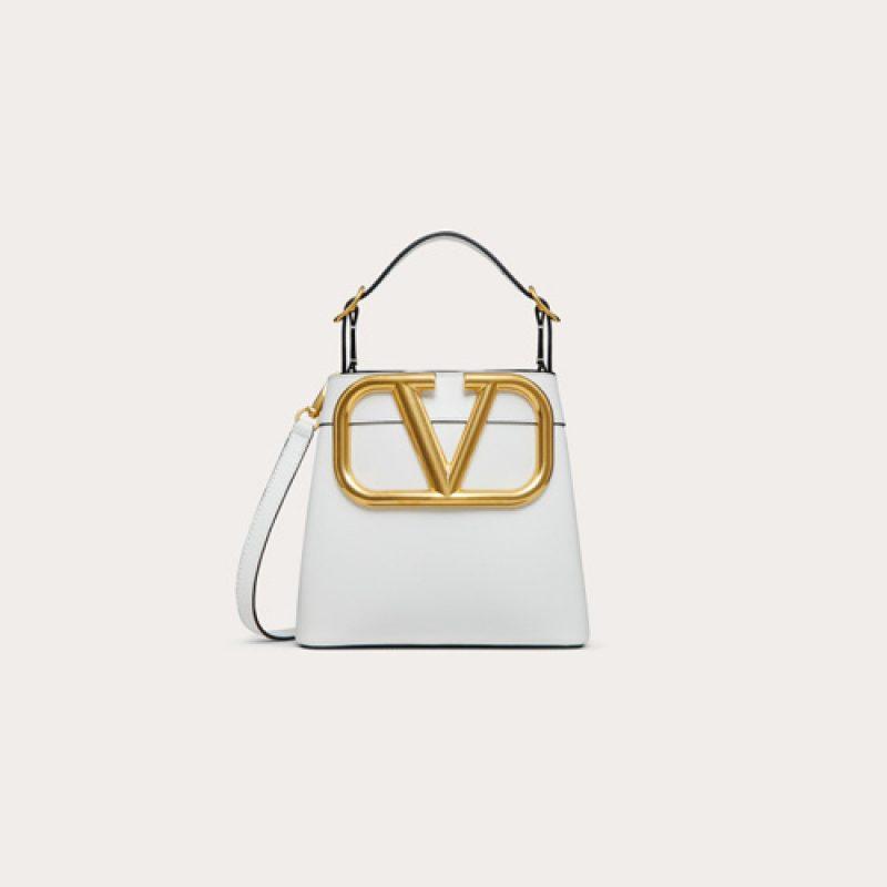 Valentino/华伦天奴高仿包包 SuperVee 高桶手提包 大V包