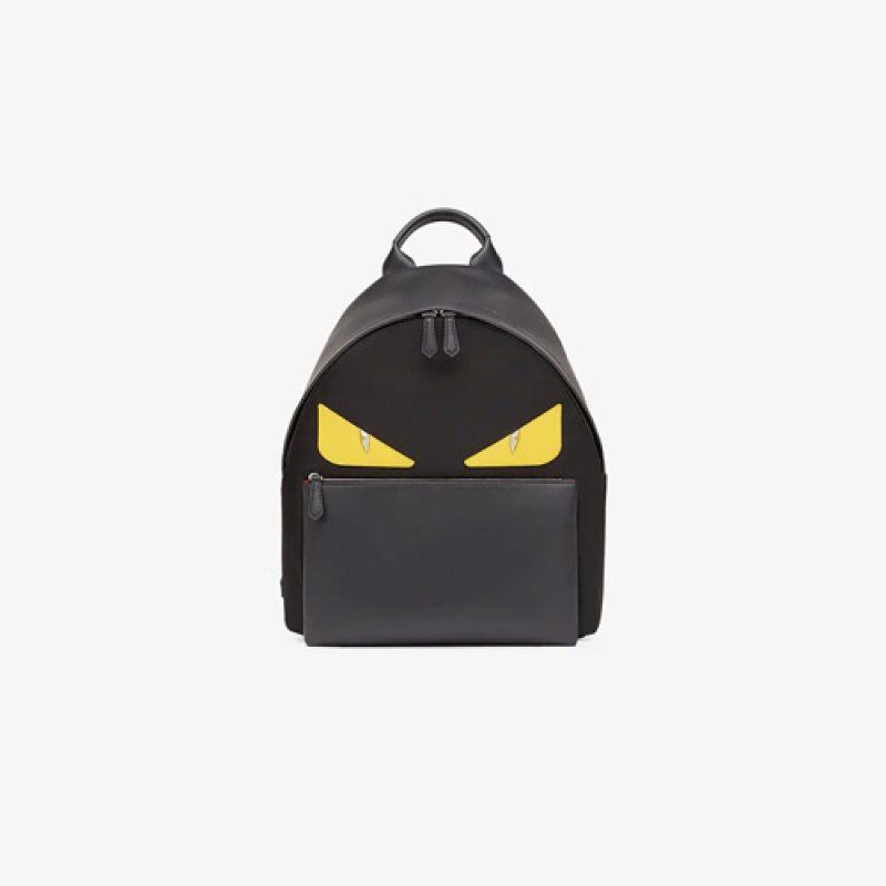 Fendi/芬迪高仿原单包包 Bag Bugs眼睛图案双肩背包