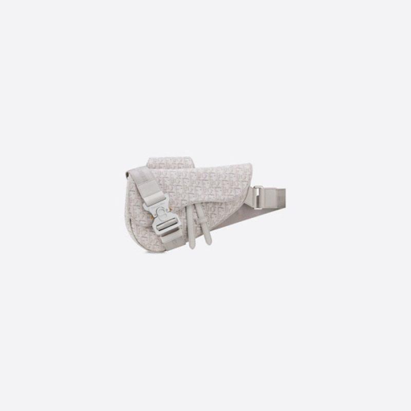 Dior/迪奥高仿原单包包 Oblique 印花男士马鞍包