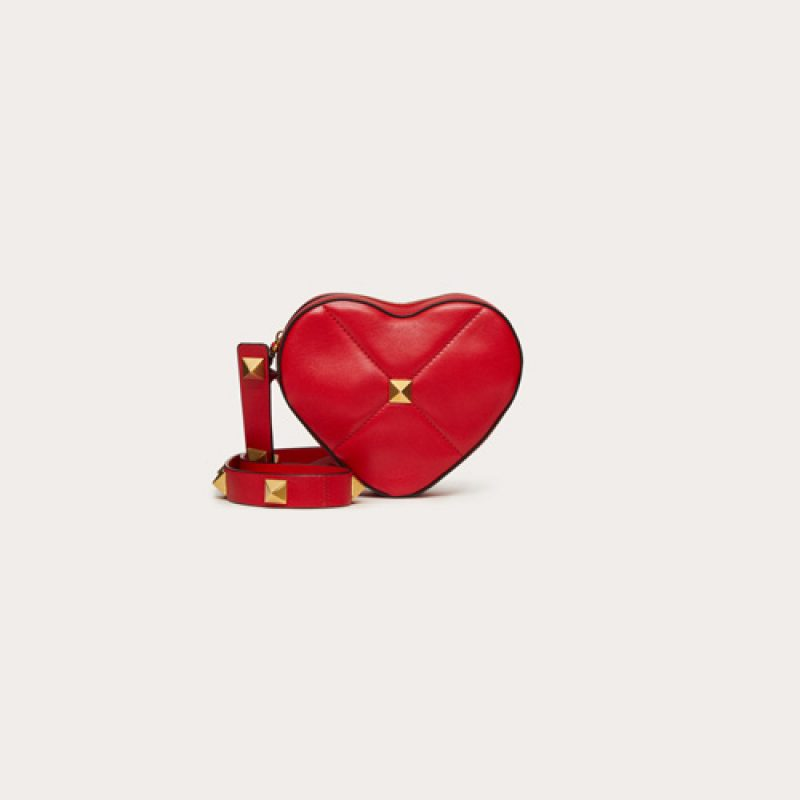 Valentino/华伦天奴高仿包包 2021七夕限定AMORE心形手袋