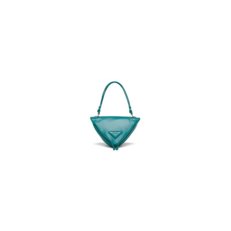 Prada/普拉达高仿原单包包 三角形手提单肩包