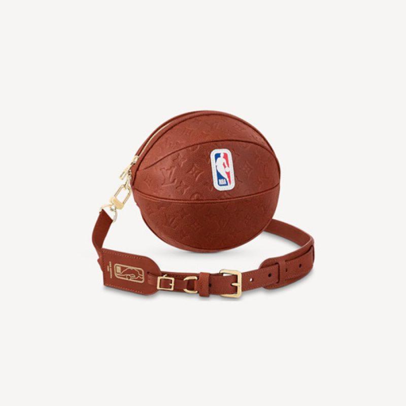 LV/路易威登高仿包包 LVXNBA系列Ball in Basket手袋 蓝球单肩包