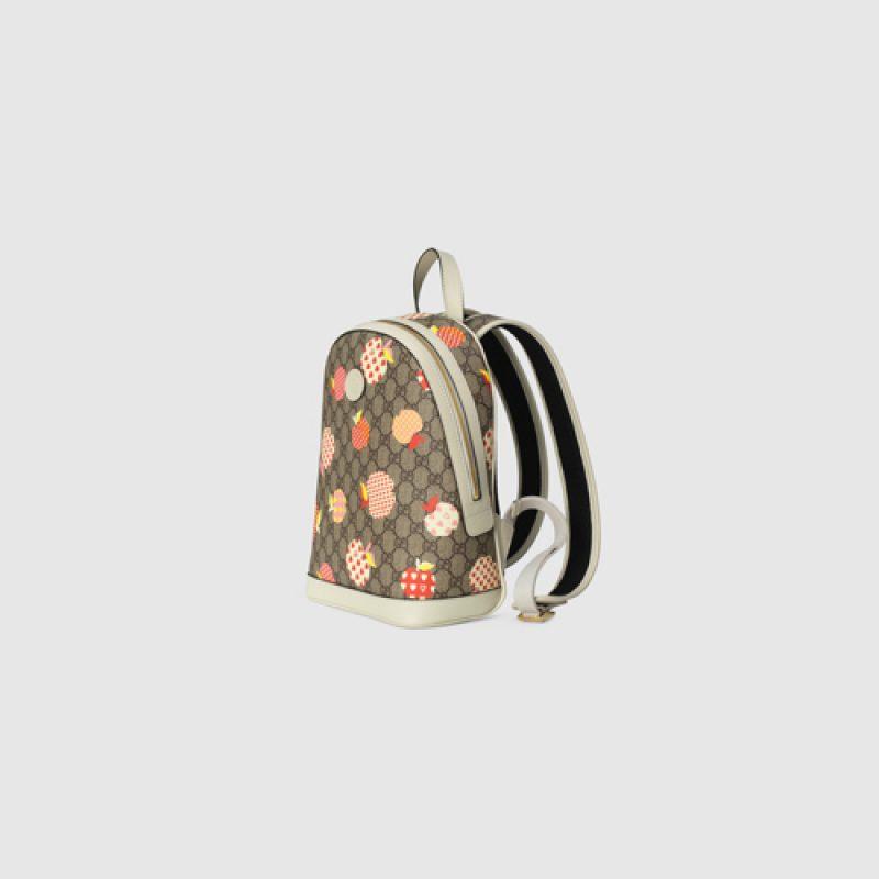 Gucci/古驰高仿原单包包 Gucci心苹果图案系列双肩背包